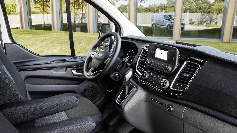 interior Ford Transit Custom