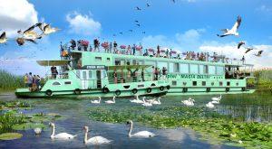 ponton plutitor Steaua Deltei si Magia Deltei